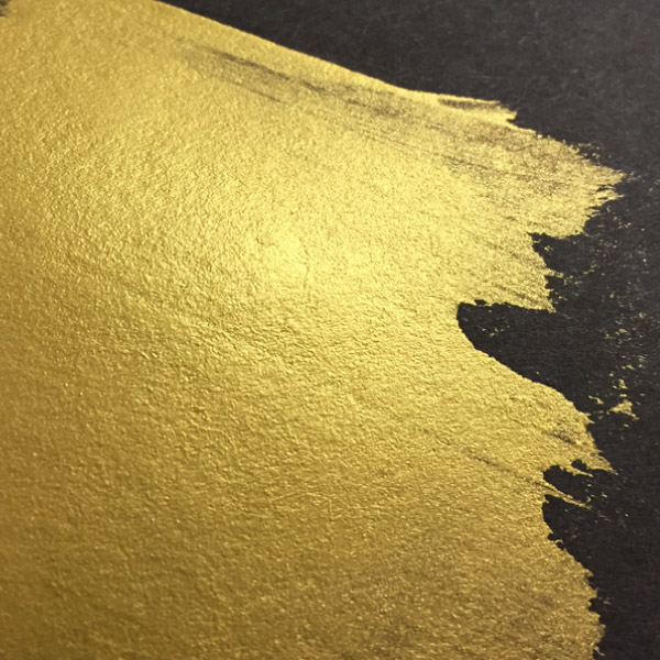 emulate a gold effect using cmyk the print guys
